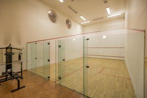 Hotel Sonnhof squash court