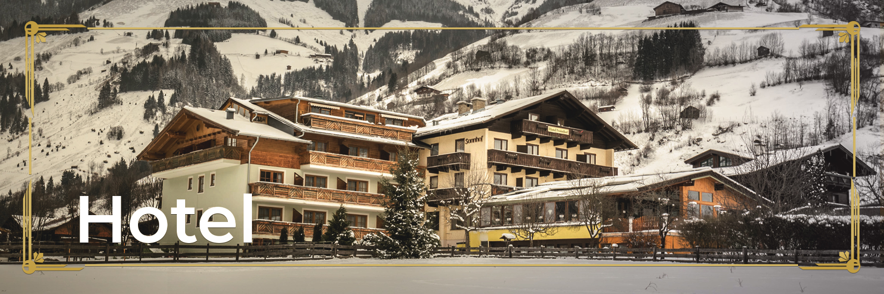 View of Sonnhof Hotel Rauris from the outside