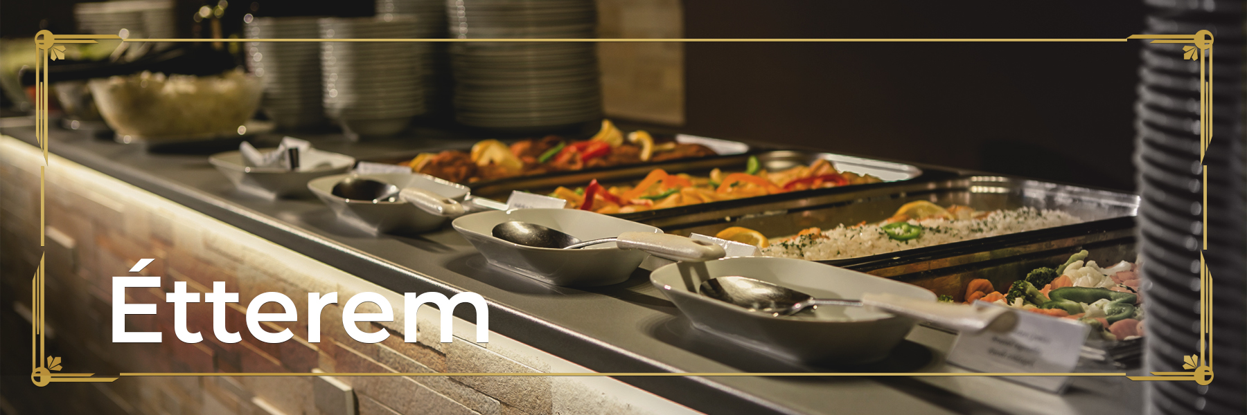 A wide variety of dishes from Sonnhof Hotel